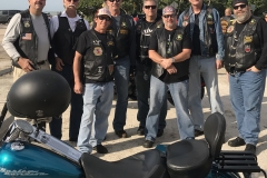Hiram's Knights at the 2018 Florida State Rendezvous - Beach Ride